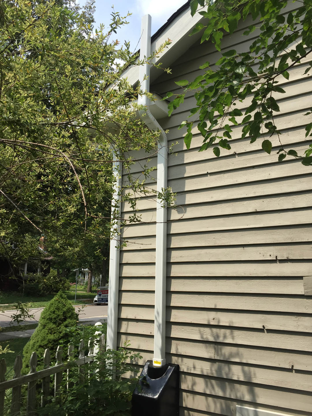Radon Reduction Systems Inc Exhaust Venting Above
