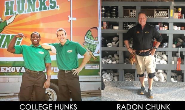 College Hunks, Radon Chunk at Naperville Irish Fest